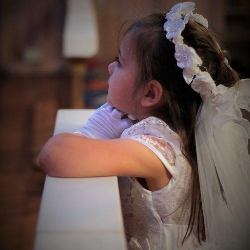 limpiar vestido comunion